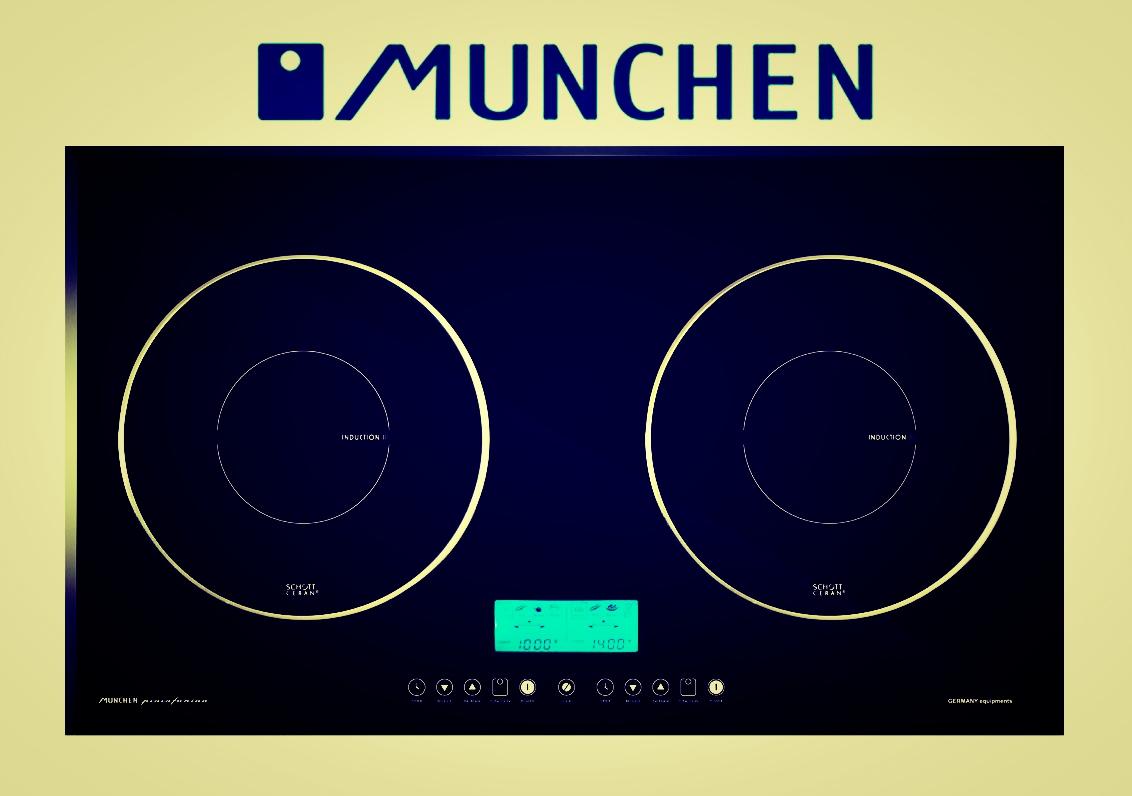 Bếp từ Munchen MT03 thưởng thức ẩm thực hiện đại