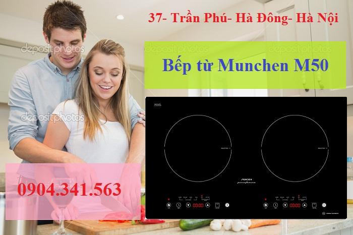 Món ngon dễ dàng với bếp từ Munchen
