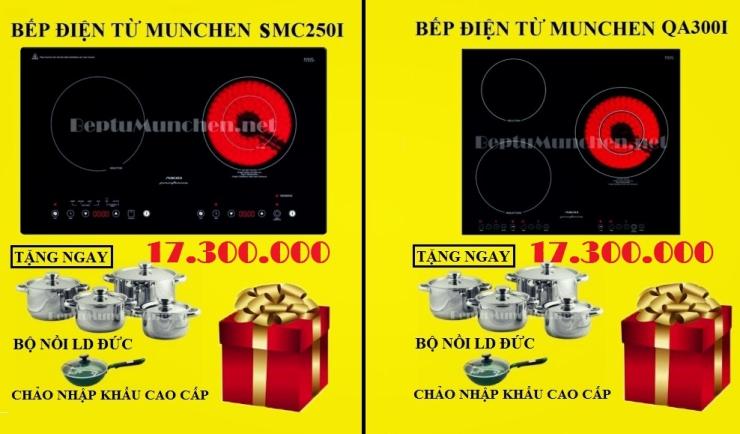 Giảm giá 15% khi mua bếp điện từ Munchen
