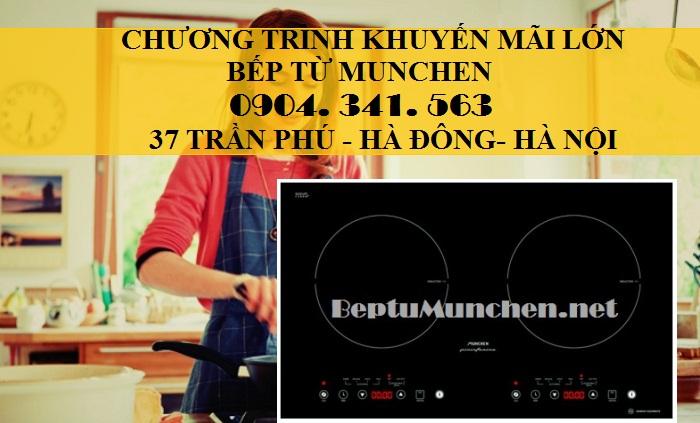Bếp từ Munchen tiết kiệm gần 20% điện năng