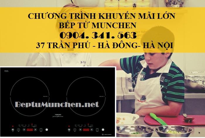 Khuyến mãi lớn khi mua bếp từ Munchen chỉ có tại Nội thất Kường Thịnh