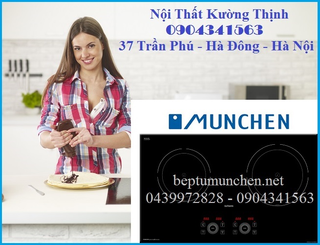 Giá bán bếp từ Munchen mới nhất 2015