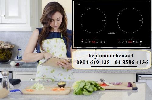 Bếp từ Munchen chế phẩm hoàn hảo của công nghệ