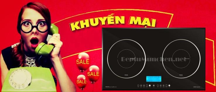 Bếp từ Munchen khuyến mại giảm giá