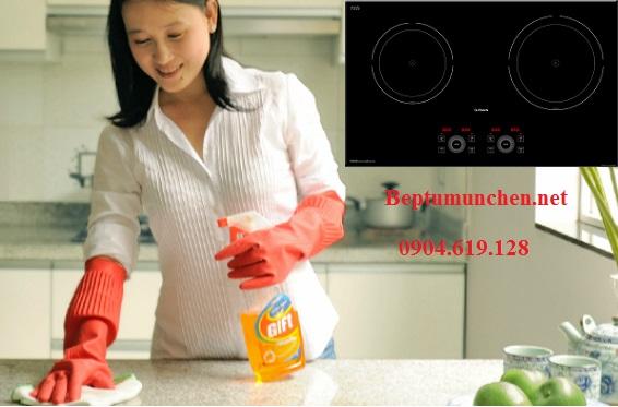 Cách vệ sinh bếp từ Munchen