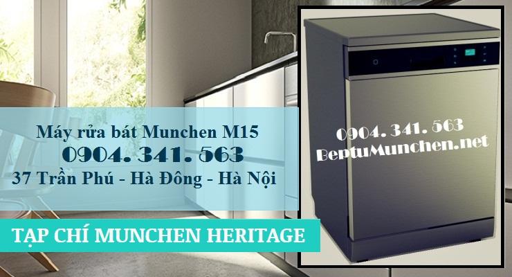 Máy rửa bát Munchen M15 nhập khẩu châu Âu