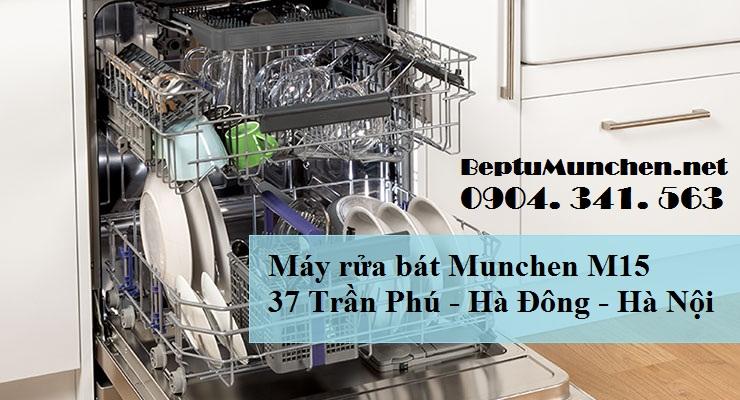 Máy rửa bát Munchen M15 là thương hiệu máy rửa bát nổi tiếng của Đức