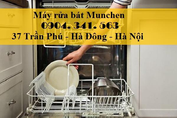 Máy rửa bát munchen m15 có chức năng nhận biết chế độ rò rỉ