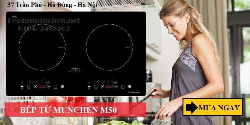 bếp từ Munchen có chức năng có chức năng hẹn giờ định dạng sẵn