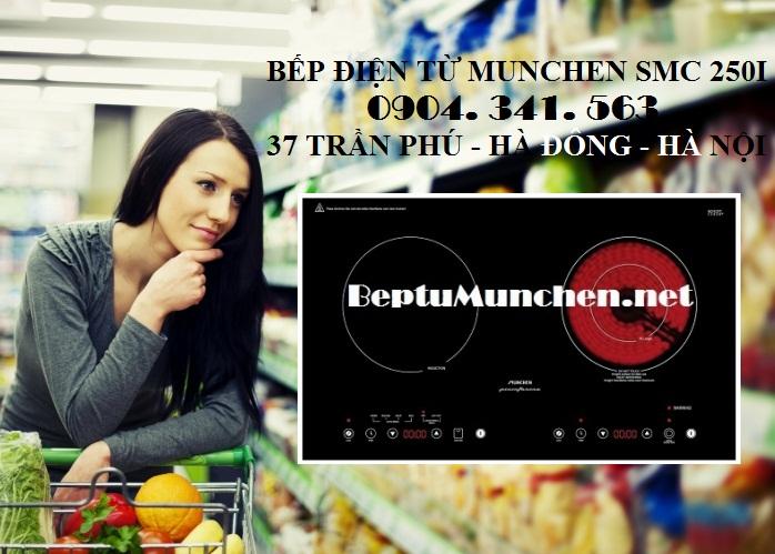 Bếp điện từ munchen smc 250i chất lượng cực tốt