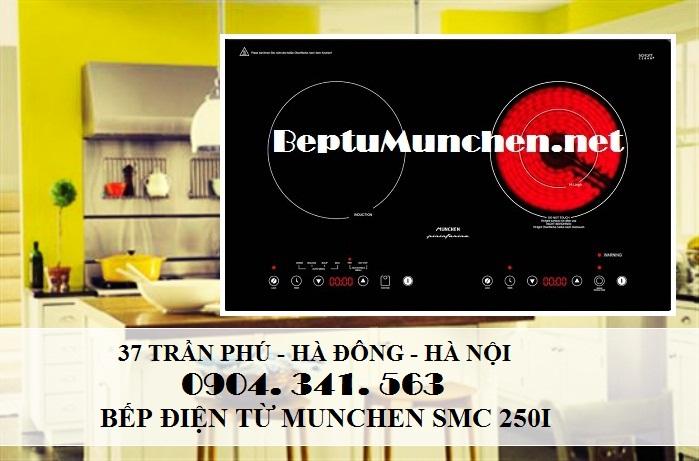 Những ưu điểm của bếp điện từ munchen smc 250i nhập khẩu