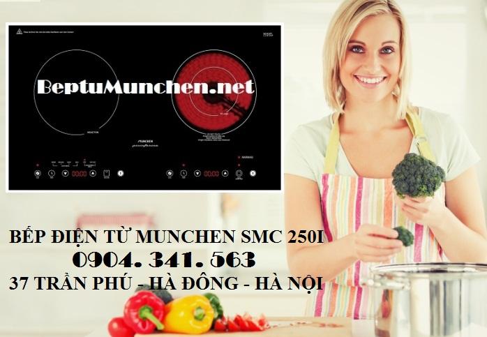 Bếp điện Munchen SMC 250I được nhập khẩu từ Italy