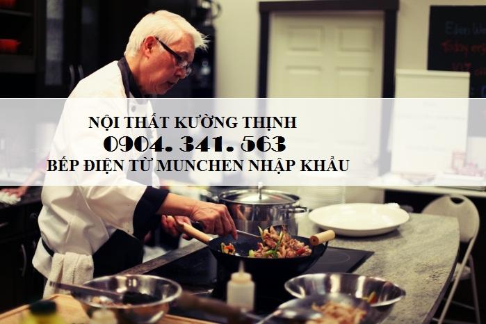 Showroom bếp điện từ Munchen - Nội thất Kường Thịnh