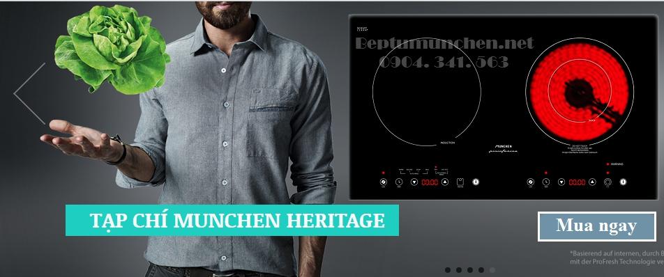Bếp điện từ Munchen SMC 250i được nhập khẩu nguyên chiếc từ Châu Âu