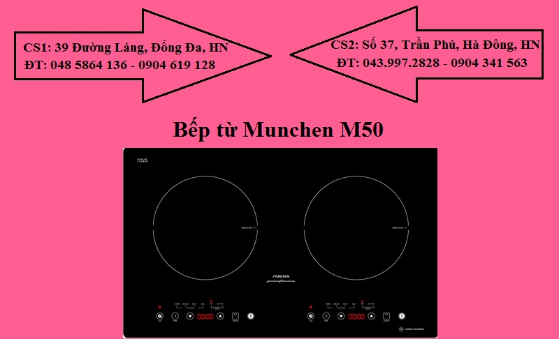 Bếp từ Munchen M50
