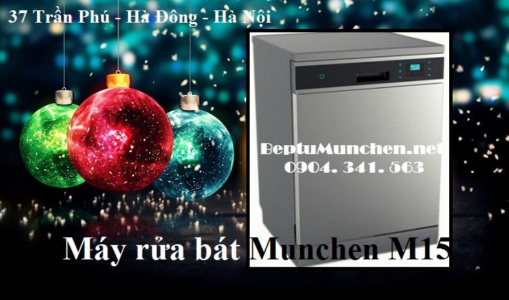 Có nên chọn mua máy rửa bát Munchen M15?