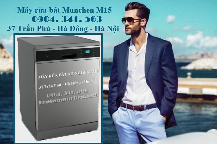 Máy rửa bát Munchen M15 chất lượng ra sao?