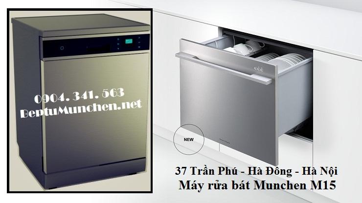 Máy rửa bát Munchen M15 đáng mua nhất năm 2016