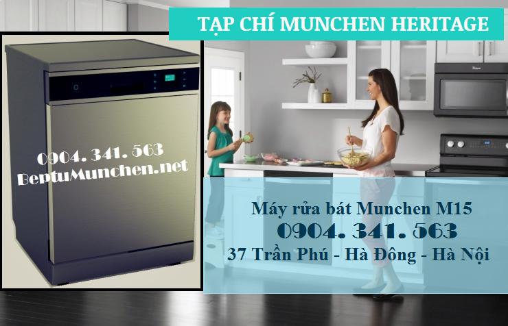 Máy rửa bát munchen m15 có thực sự tốt không?