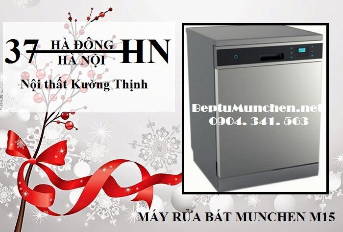 Chọn mua ngay máy rửa bát Munchen M15 trong dịp giáng sinh