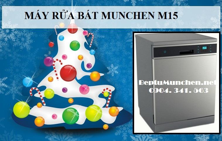máy rửa bát Munchen M15 luôn làm hài lòng các bà các mẹ khi sử dụng