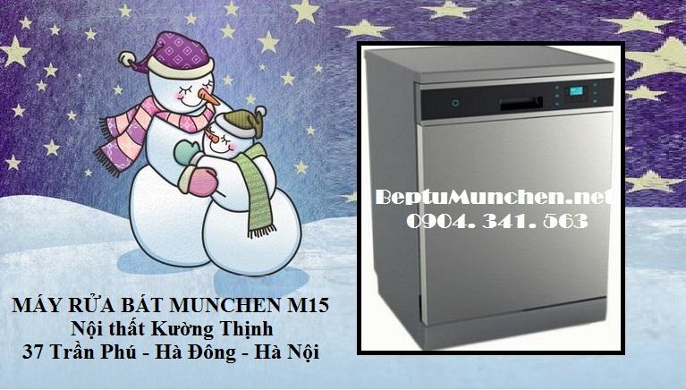 đón giáng sinh an lành cùng máy rửa bát Munchen M15