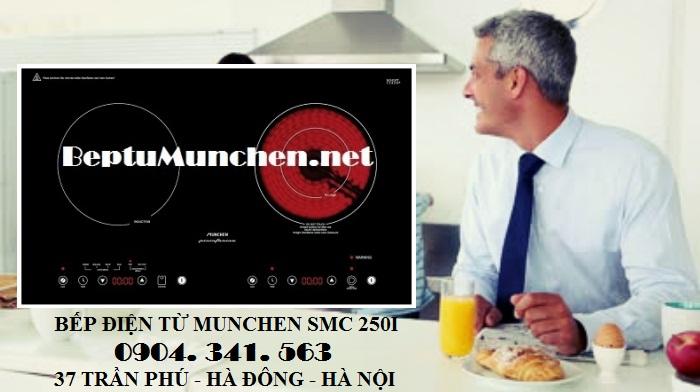 Mua bếp điện từ Munchen SMC 250I được vận chuyển miễn phí