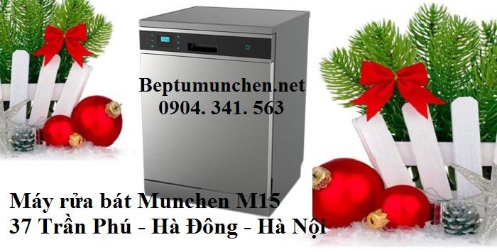 Máy rửa bát Munchen M15 siêu tiết kiệm