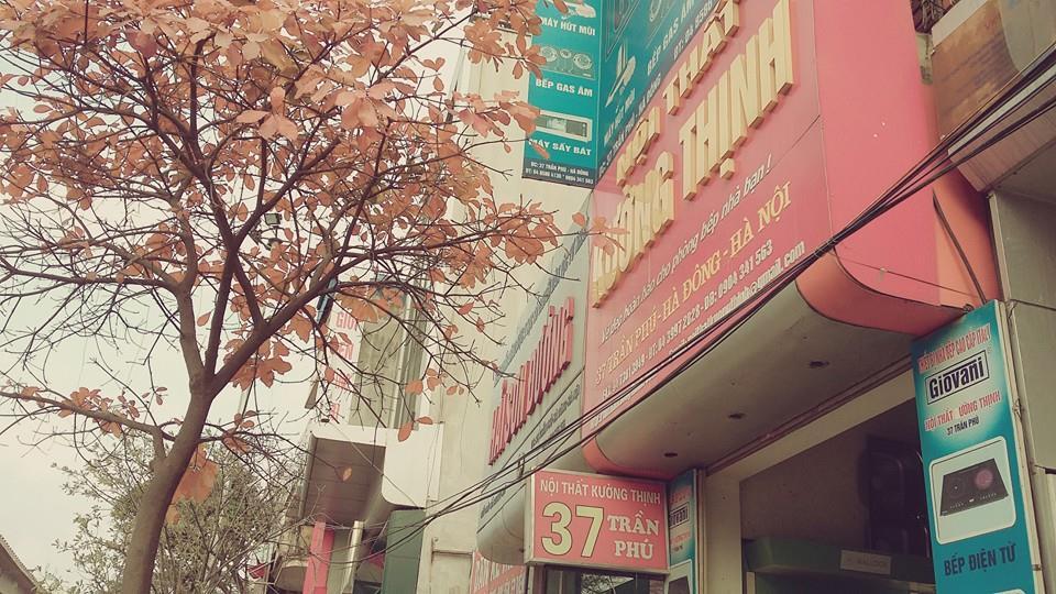 Phố mua sắm bếp từ Munchen trên đường Hà Đông