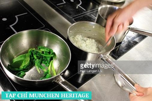 Nấu ăn chuyên nghiệp với bếp từ