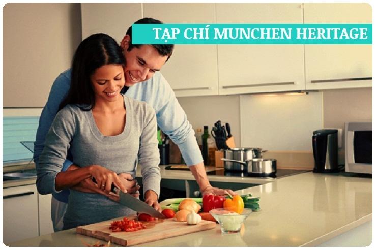Nhiều người thích chọn bếp điện từ Munchen