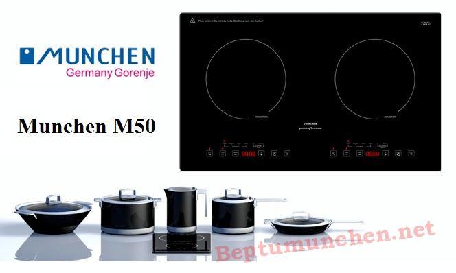 Bếp từ Munchen M50 khuyến mãi