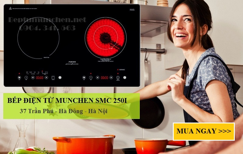 bếp điện từ munchen smc 250i nhập khẩu