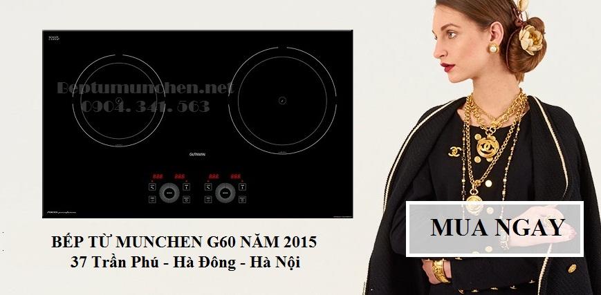 bếp từ munchen g60 của tập đoàn Munchen