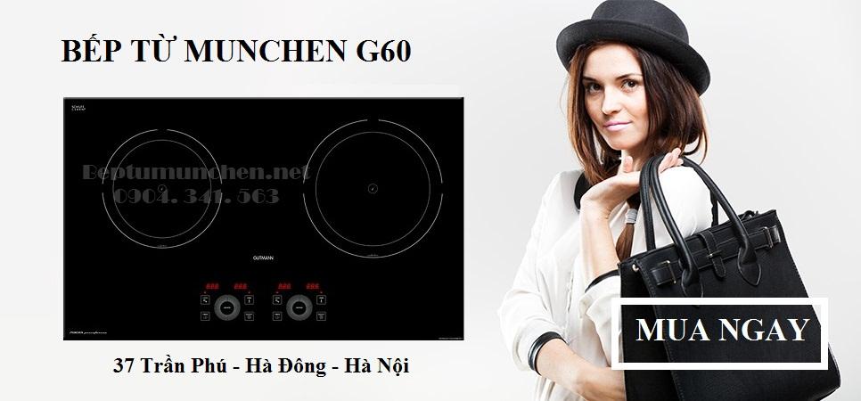 bếp từ munchen g60 chất lượng tốt