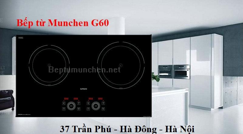 Bếp từ munchen G60 tốt cho sức khỏe