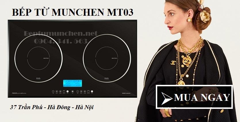 Hình ảnh bếp từ Munchen MT03 mới nhất