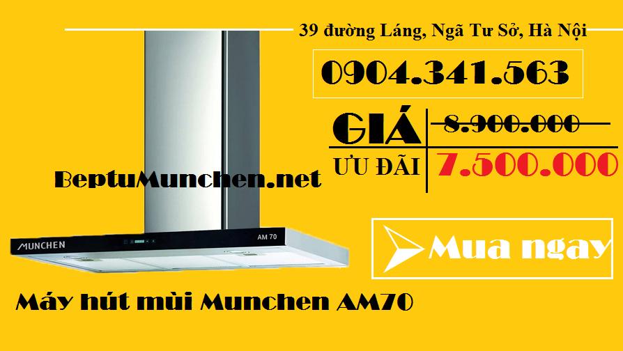 Mua máy hút mùi Munchen AM70 tại 39 đường Láng, Ngã Tư Sở