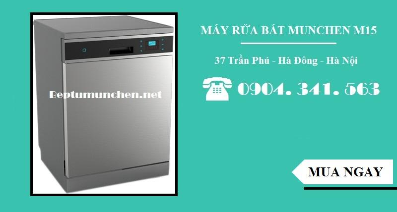 máy rửa bát munchen an toàn