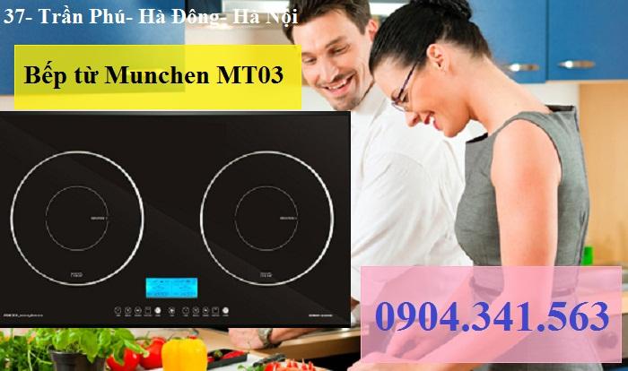 Bếp từ Munchen an toàn và tiết kiệm theo tiêu chuẩn Châu Âu