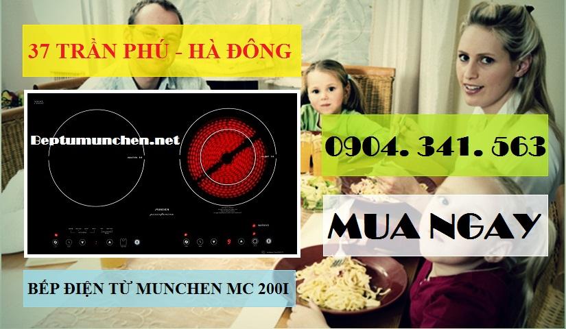 bếp điện từ munchen mc 200i nhập khẩu châu âu