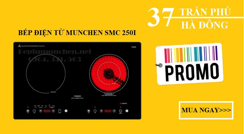 bếp điện từ munchen smc 250i chất lượng có tốt không?