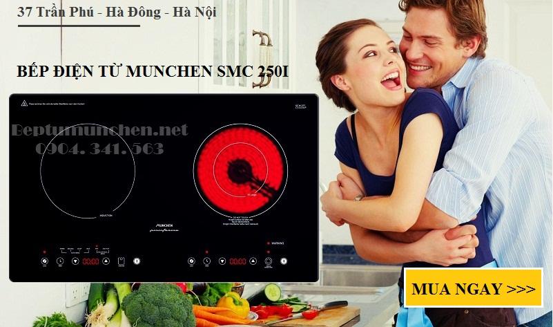 bếp điện từ munchen smc 250i phù hợp với điện lưới