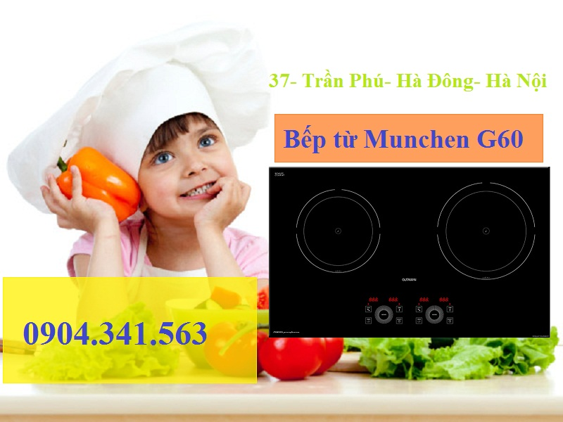 Sử dụng bếp từ Munchen G60 an toàn với trẻ nhỏ