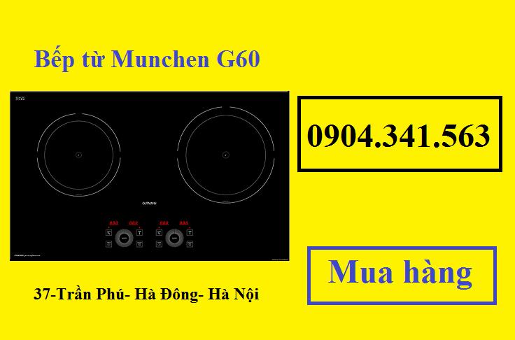 Bếp từ Munchen G60 nhanh nhạy, an toàn