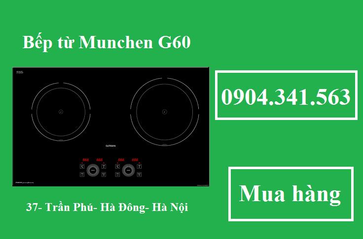 Bếp từ Munchen G60 rất tốt