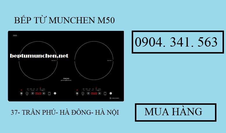 Sử dụng bếp từ Munchen M50 rất hiệu quả