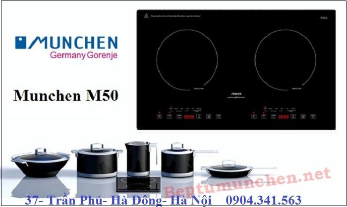 Nhiều chế độ điều chỉnh hơn với bếp từ Munchen