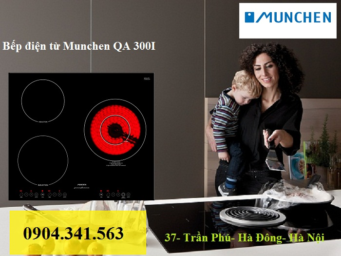 Bếp điện từ Munchen nhập khẩu trực tiếp từ Châu Âu