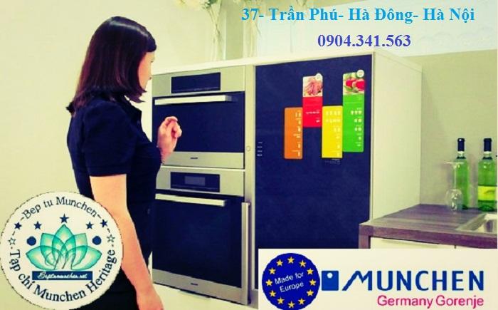 Lò nướng Munchen ML60 điều khiển dễ dàng, linh hoạt